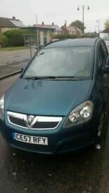 Vauxhal zafira 1.6 petrol 57 plate