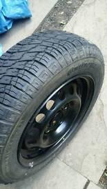 Nissan Micra K11 13 inch wheel & tyre