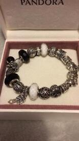 Pandora Bracelet & Charms £150