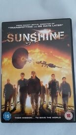 Sunshine dvd.