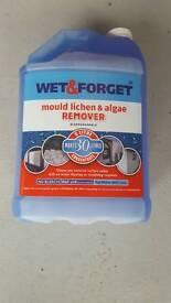 5ltr Bottle of Wet & Forget Mould Lichen and Algae Remover