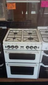 NEWWORLD 60CM ALL GAS COOKER IN WHITE WITH LID