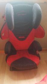 Recaro car seat (from 15kg to 36kg) bulit in speaker