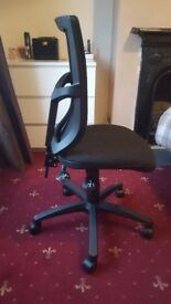 Brand new office chair. Never been used. Offers welcome
