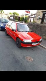 Peugeot 106 Escapade. 109k, 10 months MOT. Please note, the interior will be going back to standard