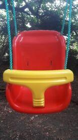 Plum Outdoor Baby Swing