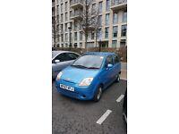 Chevrolet Matiz, Blue, 5 Door, Eng size 1 litre, Manual, Reg 2007, Mils 45k,Fsh, £950 ono.