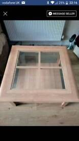 Coffee Table (Glass Middle)