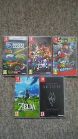 Nintendo switch games sold sepperatly
