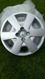 GENUINE TOYOTA WHEEL TRIMS 15""
