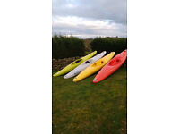 Selection of Canoes