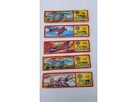 Five Aeroplane Glider Kits in Original Packaging