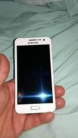 Samsung A3 white
