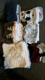 Big bundle of baby clothes (0-9 months)