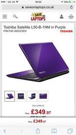 "Toshiba L50 B 1NM Core i3 4th Gen 1tb 15.6"" Laptop"