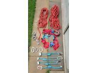 Climbing equipment all on pictures go together !Can deliver or post!