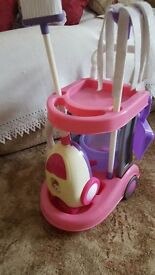 Childs cleaning station