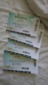 The Cure 7th July Hyde Park under face value 3 tickets