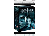 Brand new Harry Potter complete DVD Collection