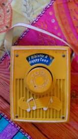 1970s Fisher Price music box vintage
