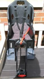 Childs bike seat, suitable up to 22kg.