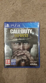 Call of Duty: WWII ps4 sealed brand new
