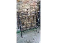 Victorian single bed frame