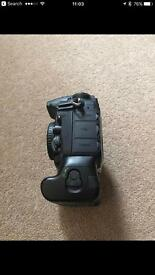 Nikon D810 camera complete with Nikon battery grip.