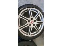 Honda Civic ep3 Type R wheels may swap