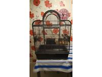 Bird Cage Santa Fe Top Opening Cage With Stand