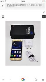 Samsung s7 gold unlocked buying from shop