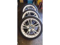 BMW Z4 E89 Split rims and tyres