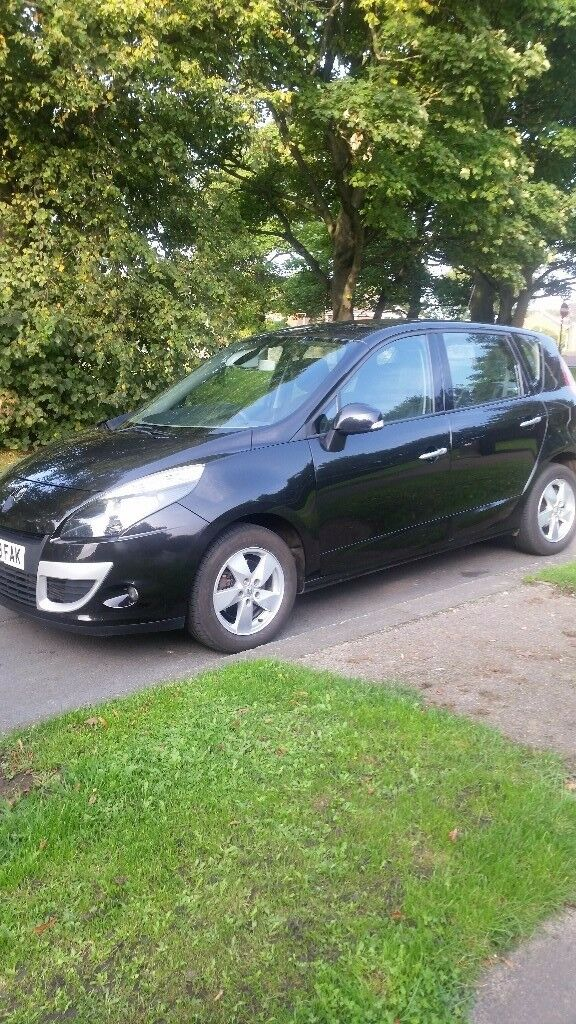 2010 renault scenic dynamique dci 105 mpv f.s.history full mot excellent condition.