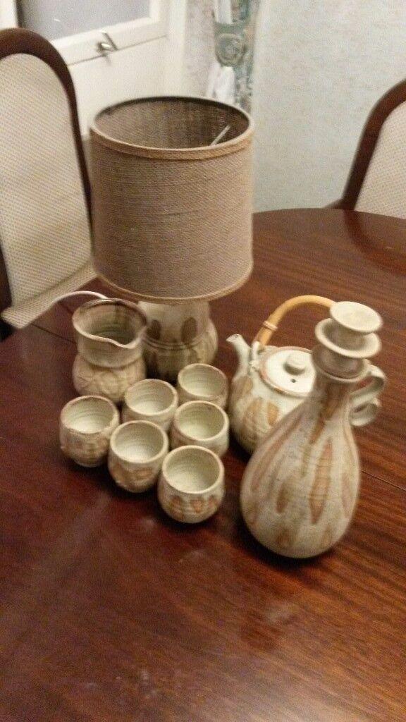 Unique Pottery Set