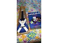 Ukulele for sale, brand new, Saltire design