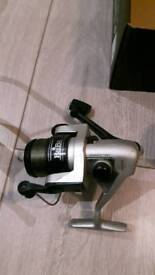 Haiba fishing reel- slingshot- weights and spare line reduced