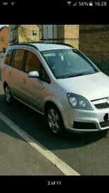 Vauxhall zafira 1.6,petrol,manual,7 seater