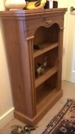 solid pine small book case