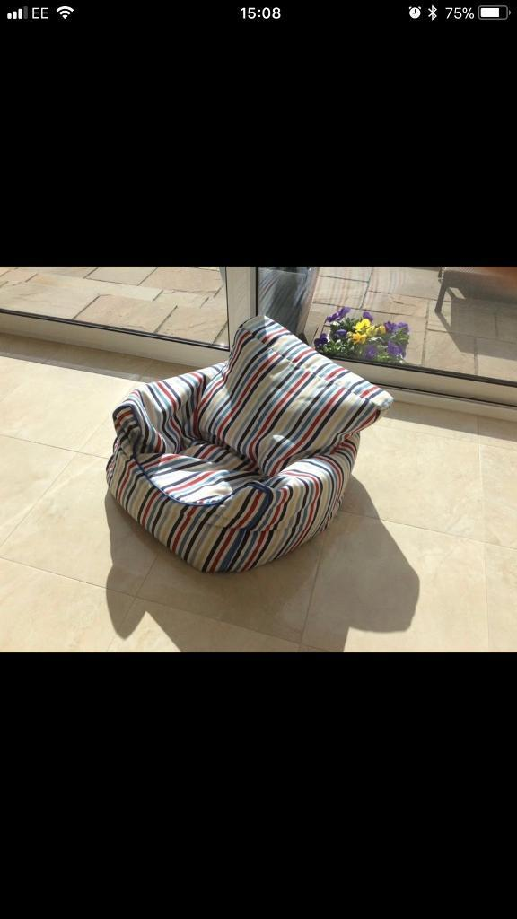 2 GLTC Bean Bag Chairs For Sale Image 1 Of