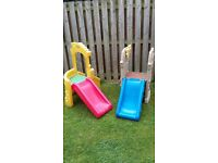 actovity play slide and playhouse £20 each