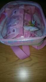 Tinkerbelle skateboard protector pads in bag