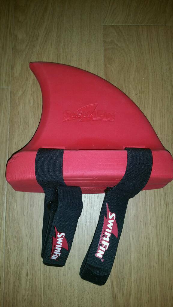 Red Swimfin Children's Swimming Aid