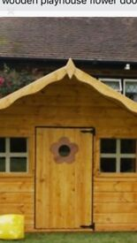 Kids 6ft wooden house 12weeks old
