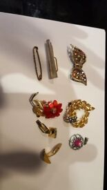 SELECTION OF BROACHES ETC