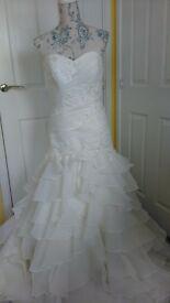 alexia wedding dress*NEW*