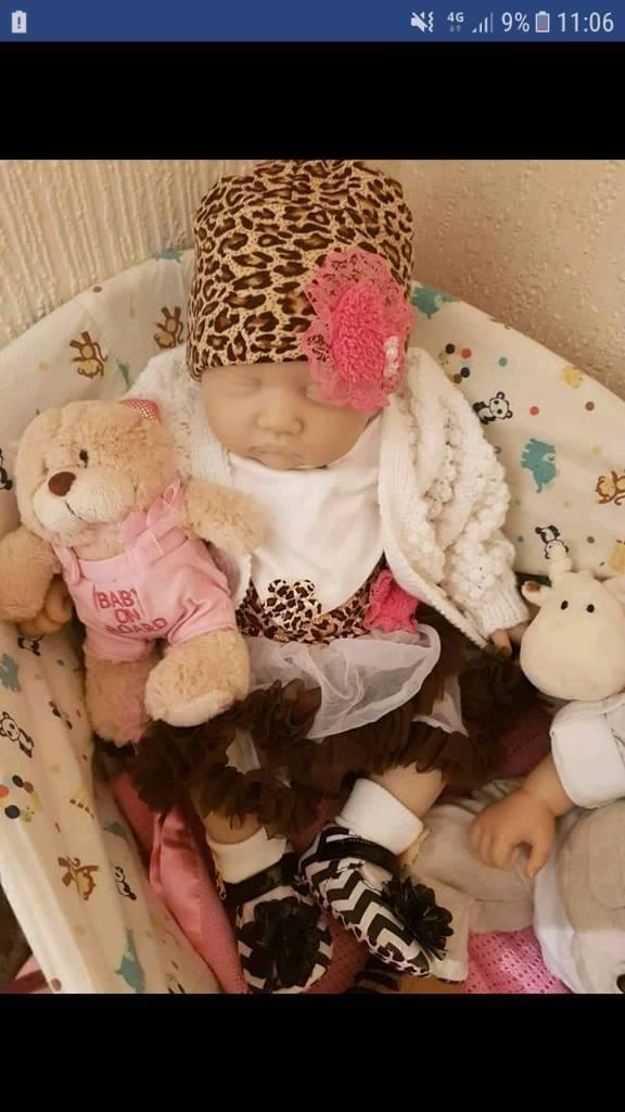 Reborn Baby And Maxi Cosi Car Seat