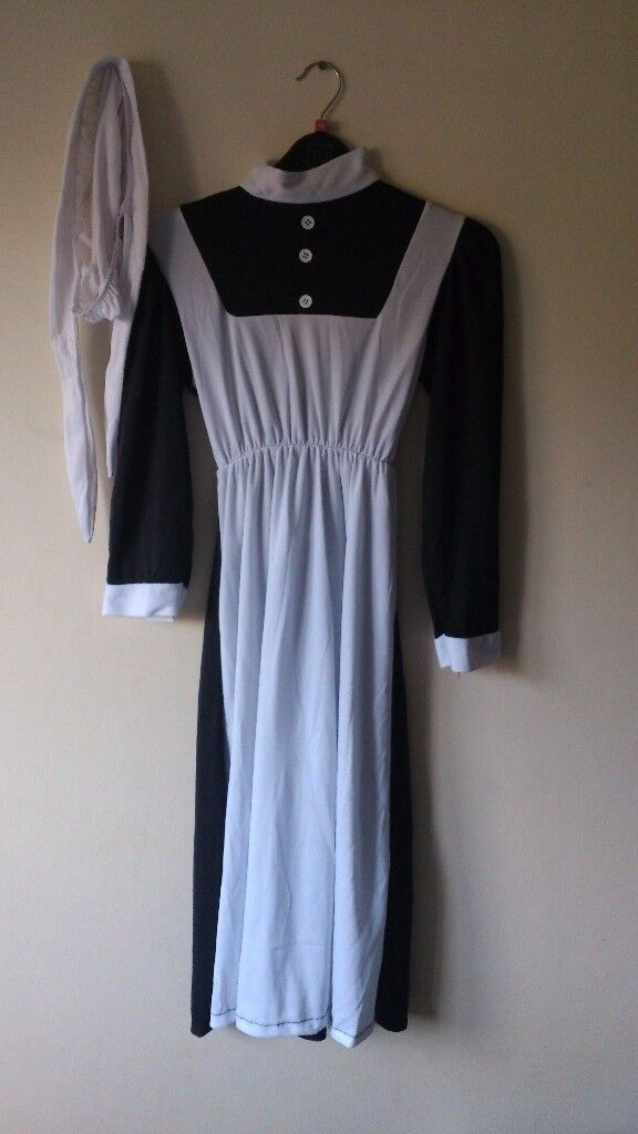 KIDS FLORENCE NIGHTINGALE OLD VICTORIAN Girls Costume