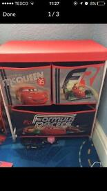 Disney cars drawers