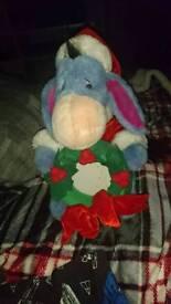 Eeyore Christmas teddy / photoframe