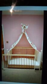 Mama's and Papa's cream nursery furniture